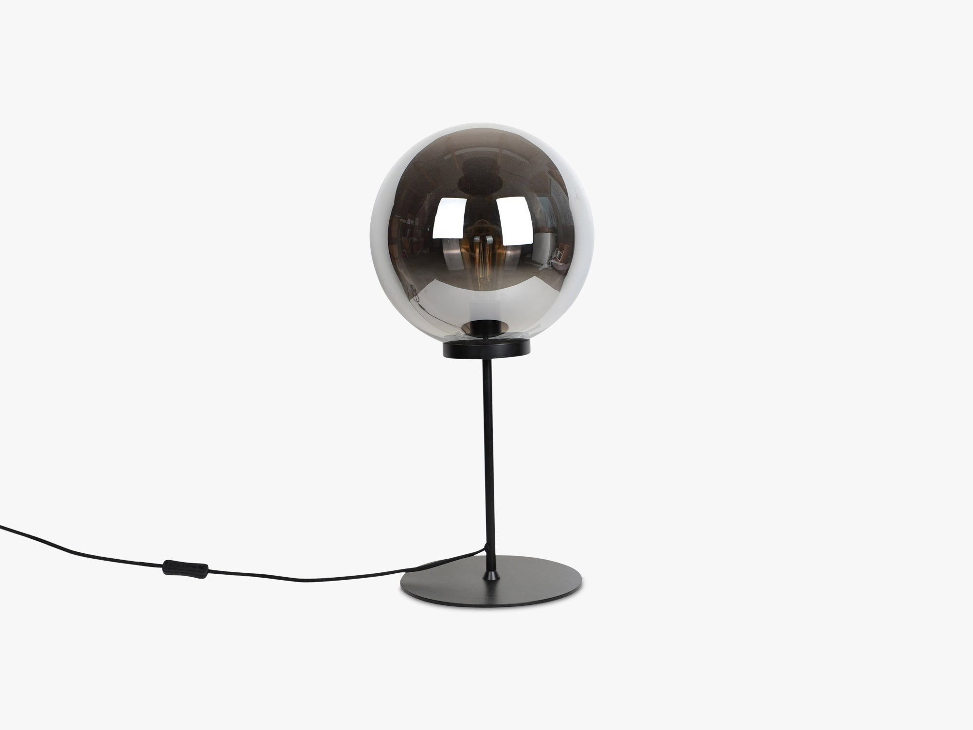 Ball Table Lamp - Large, Warm Grey fra Specktrum