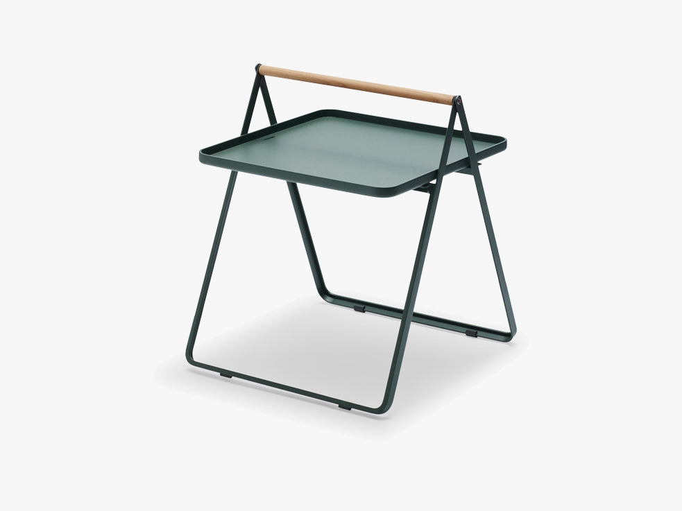 By Your Side Tray Table, Hunter green fra SKAGERAK