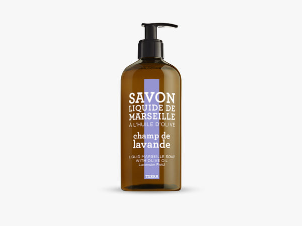 TERRA Liquid Soap 500ml,Lavender Fields fra Savon De Marseille