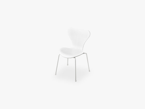 Series 7 Children Chair, White Monochrome fra Fritz Hansen