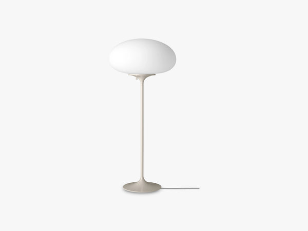 Stemlite Table Lamp - H70, Pebble Grey fra Gubi