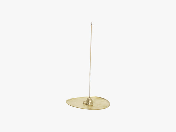 Stone Incense Burner, Brass fra Ferm Living