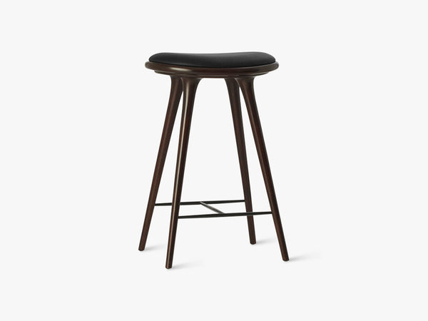 High Stool H69, Dark Stained Beech fra Mater