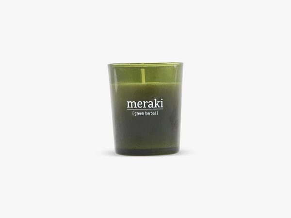 Duftlys, Green herbal fra Meraki