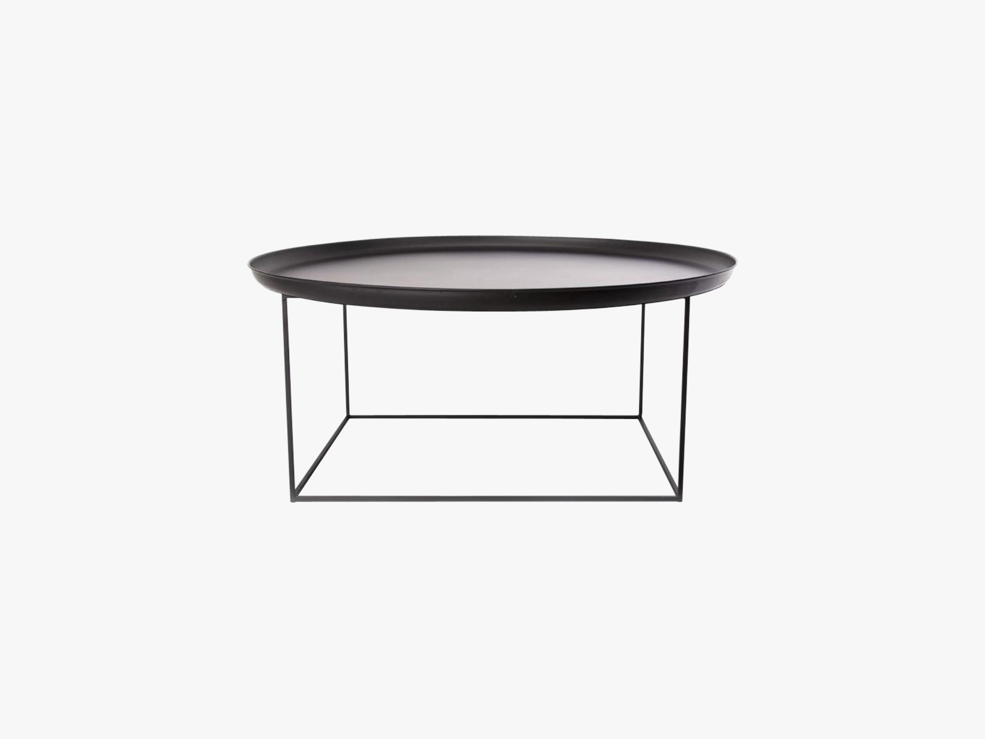 Duke Coffee Table, Large - Black fra NORR11