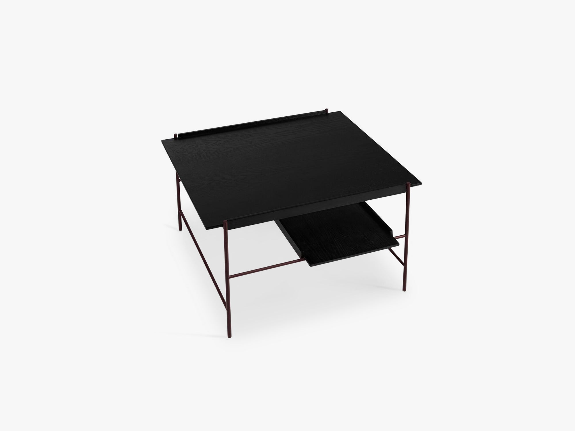 Kanso Coffee Table, Black Ash/ Fig Purple fra Please Wait To Be Seated