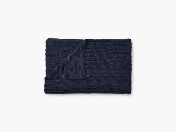 Ample Throw, Midnight Blue fra Muuto