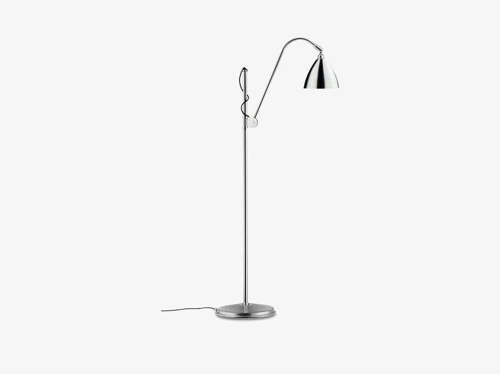 Bestlite BL3 Floor Lamp - Ø16 - Crome Base, Chrome fra GUBI