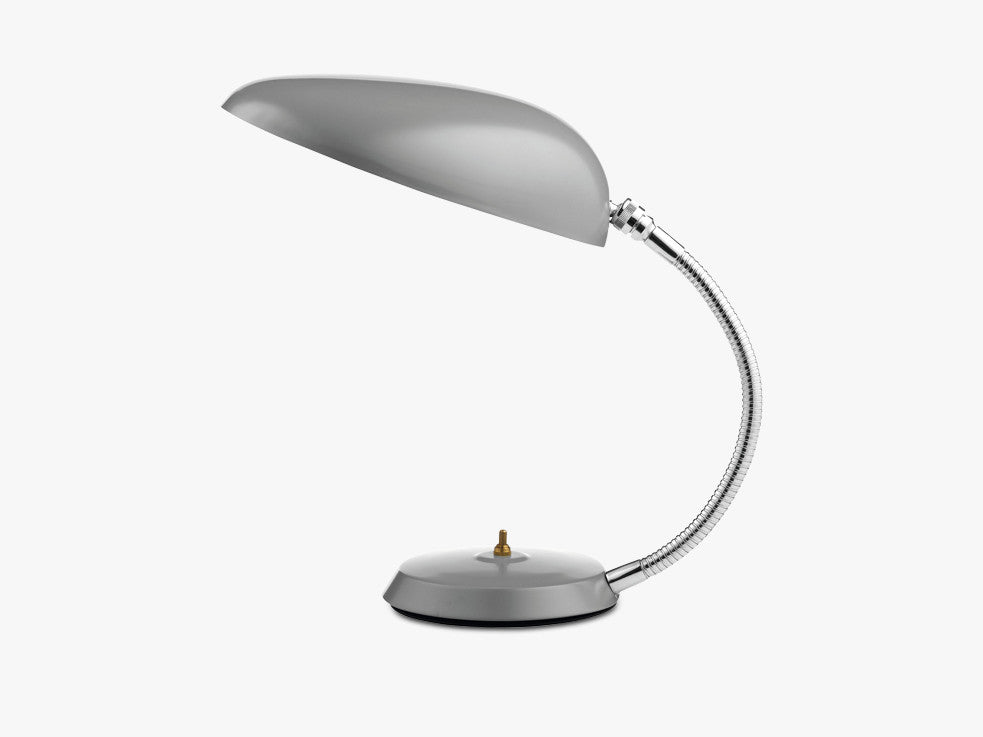 Cobra Table Lamp, Blue Grey fra GUBI
