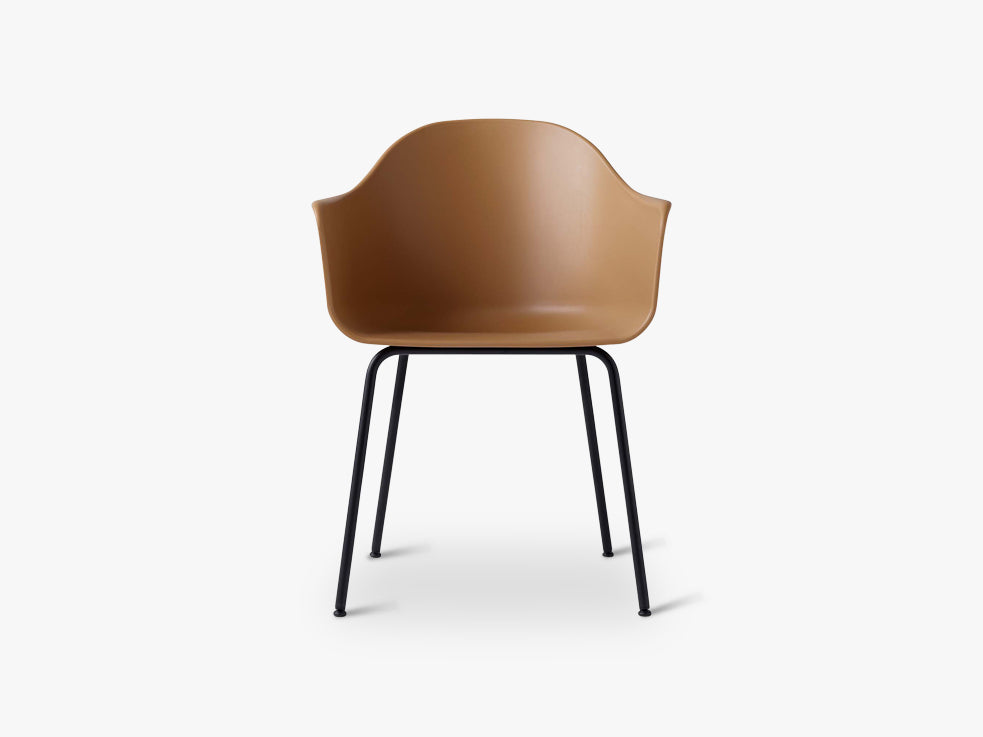 Harbour Chair, Khaki//Black Steel Base fra Menu