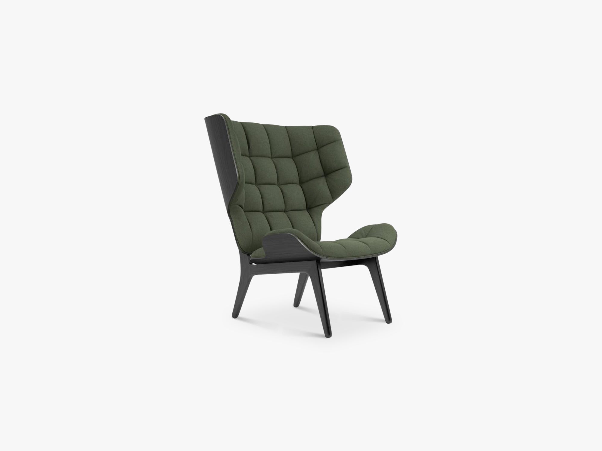 Mammoth Chair, Black/Forest Green fra NORR11