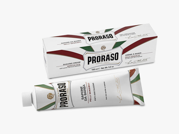 Shaving Cream Tube, Sensitive 150ML fra Proraso
