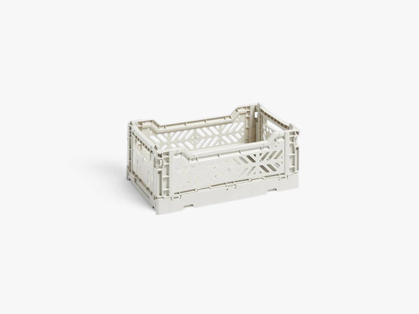 Colour Crate Small, Light Grey fra HAY