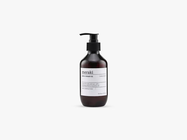 Bath & Shower oil, Velvet mood fra Meraki