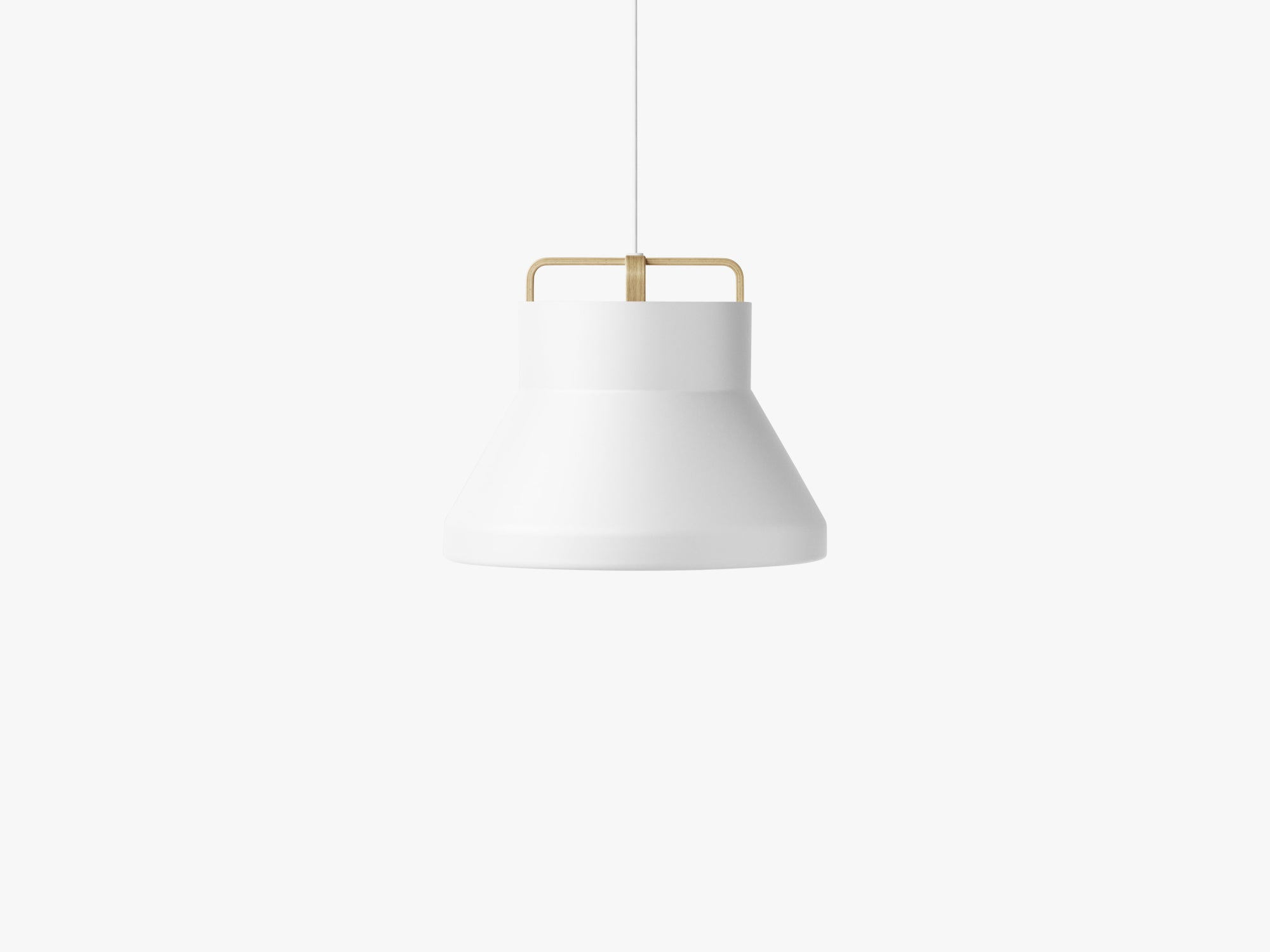 Voyage Pendant M2, Ø46 White/Oak fra MILLION