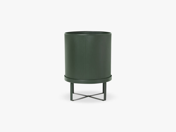 Bau Pot - Large, Dark Green fra Ferm Living