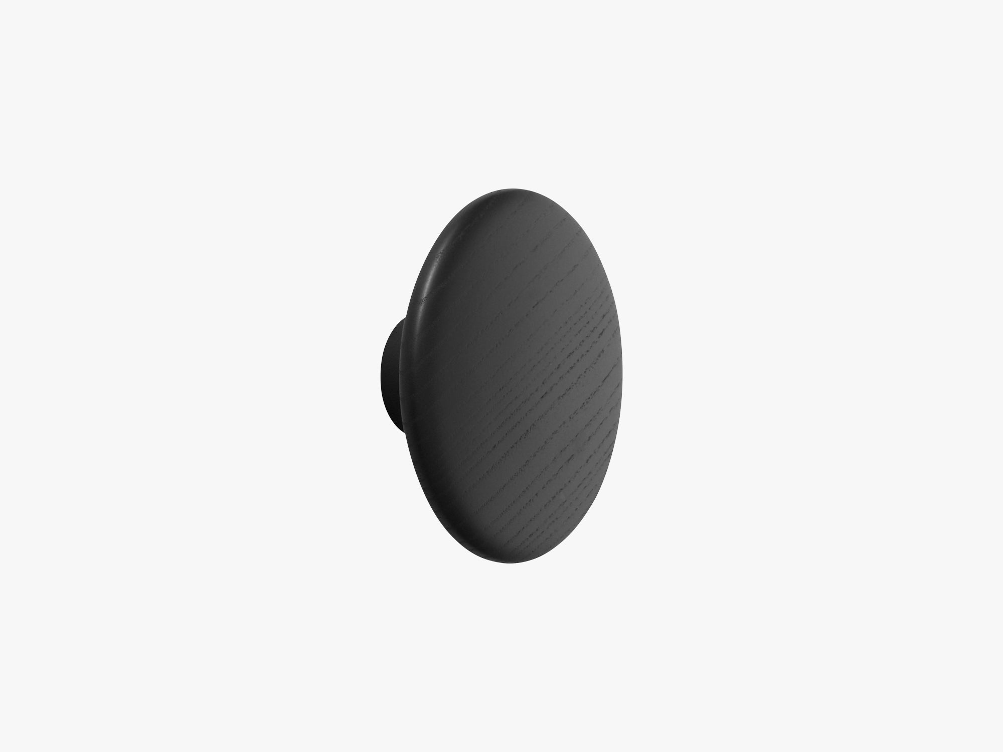 The Dots Coat Hooks / Large, Black fra Muuto