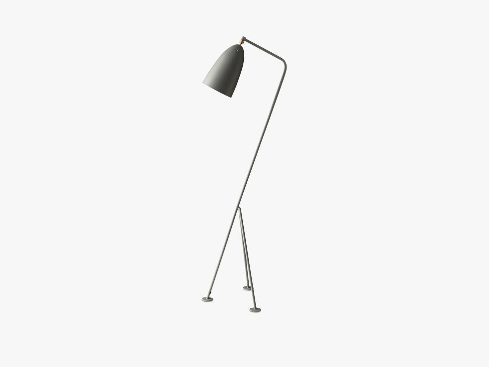 Gräshoppa Floor Lamp, Blue Grey fra GUBI
