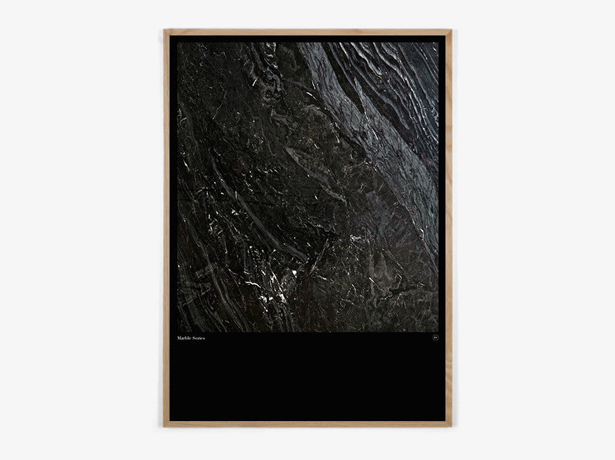 Marble Series #Black - Beautiful World Plakat fra Beautiful World