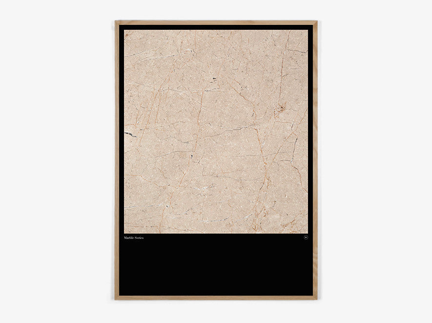 Marble Series #Honey - Beautiful World Plakat fra Beautiful World