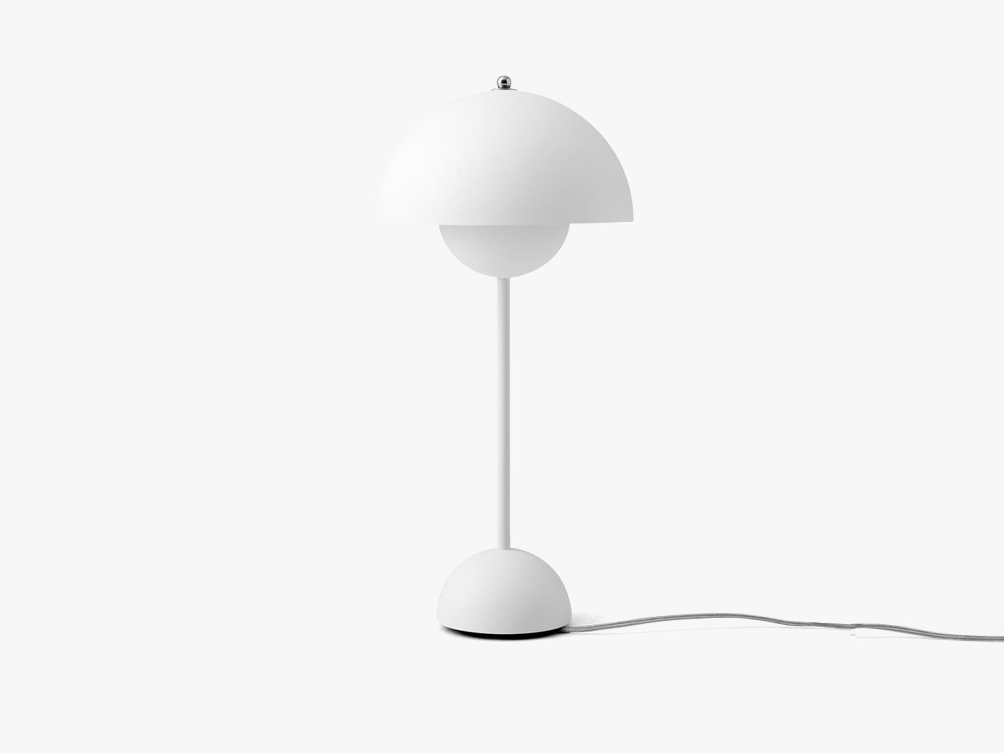 Flowerpot Table Lamp - VP3, Matt White fra &tradition