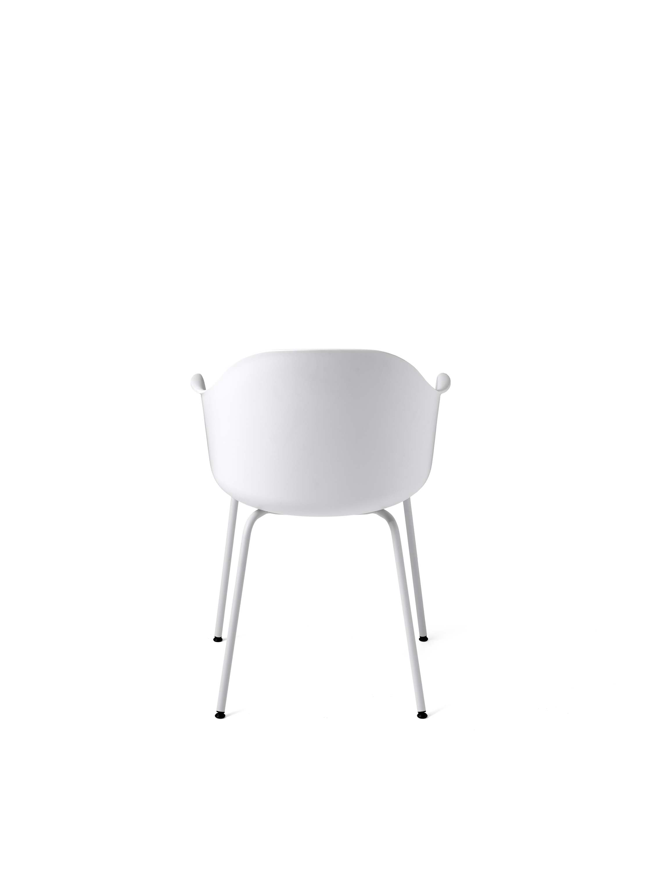 Harbour Chair, White/Light Grey Steel Base fra Menu