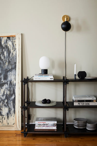JWDA Table Lamp, Concrete Black fra Menu