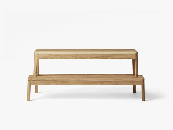Arise Bench, Natural Oak fra MILLION