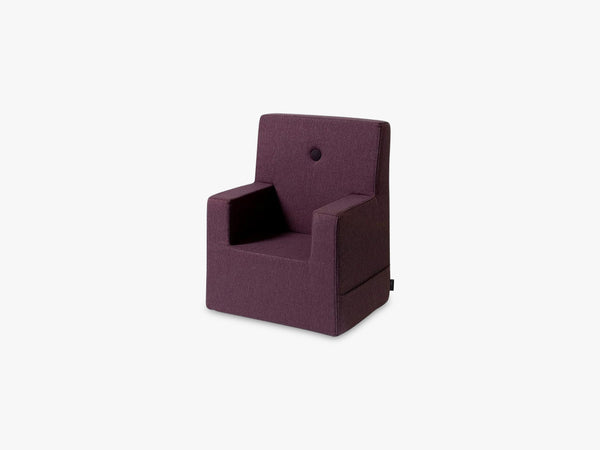 KK Kids Chair XL, Plum w plum fra By Klip Klap