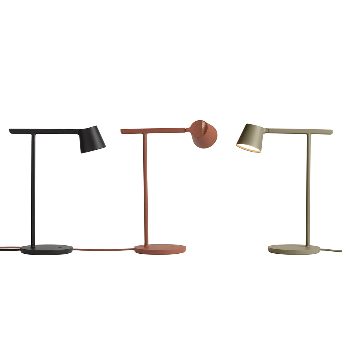 Tip Table Lamp, Olive fra Muuto