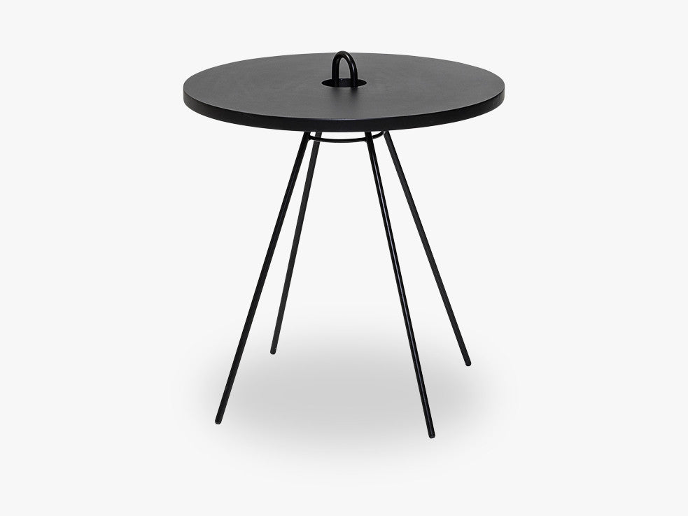 Chloe Sidetable, Black, MDF fra Bloomingville
