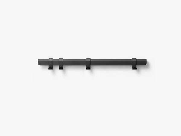 Hug Coat Rack 90cm, Black/4 Hooks fra MILLION