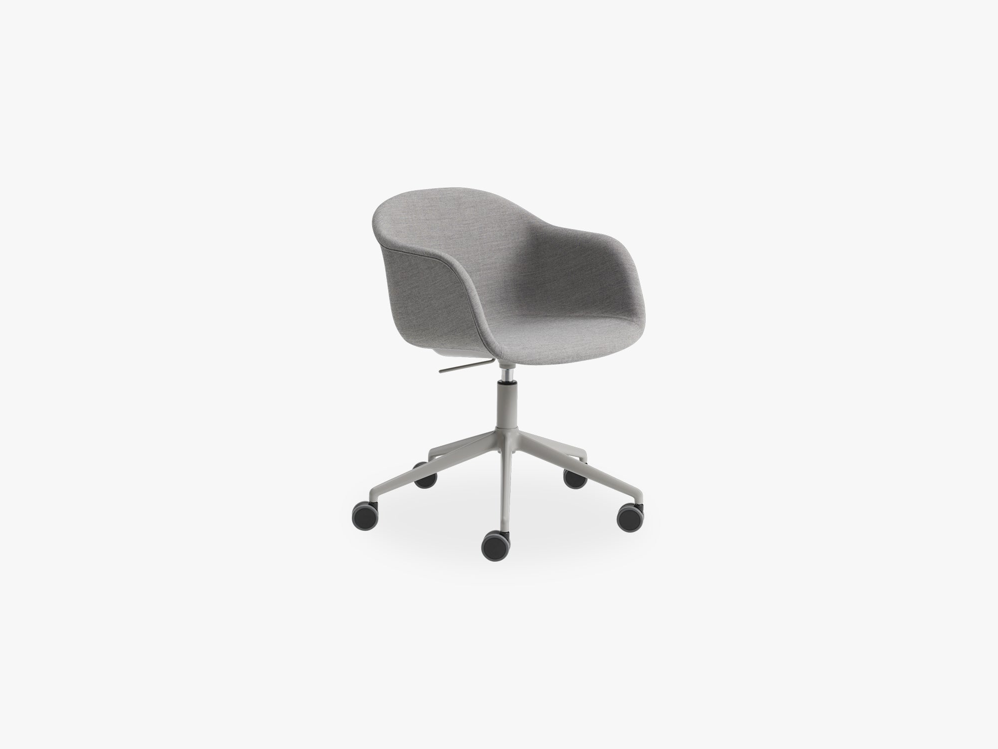 Fiber Armchair - Swivel Base W Castors & Gas Lift fra Muuto