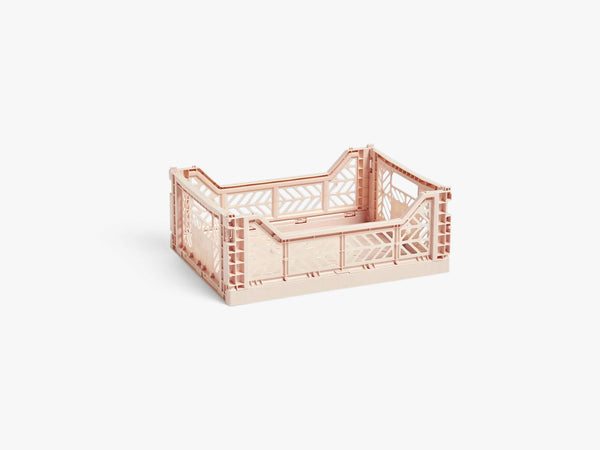 Colour Crate Medium, Soft Pink fra HAY