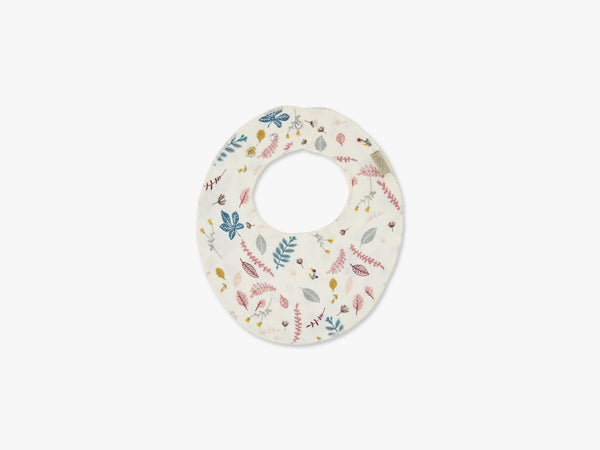 Bib - Teething Muslin, Pressed Leave Rose fra Cam Cam Copenhagen