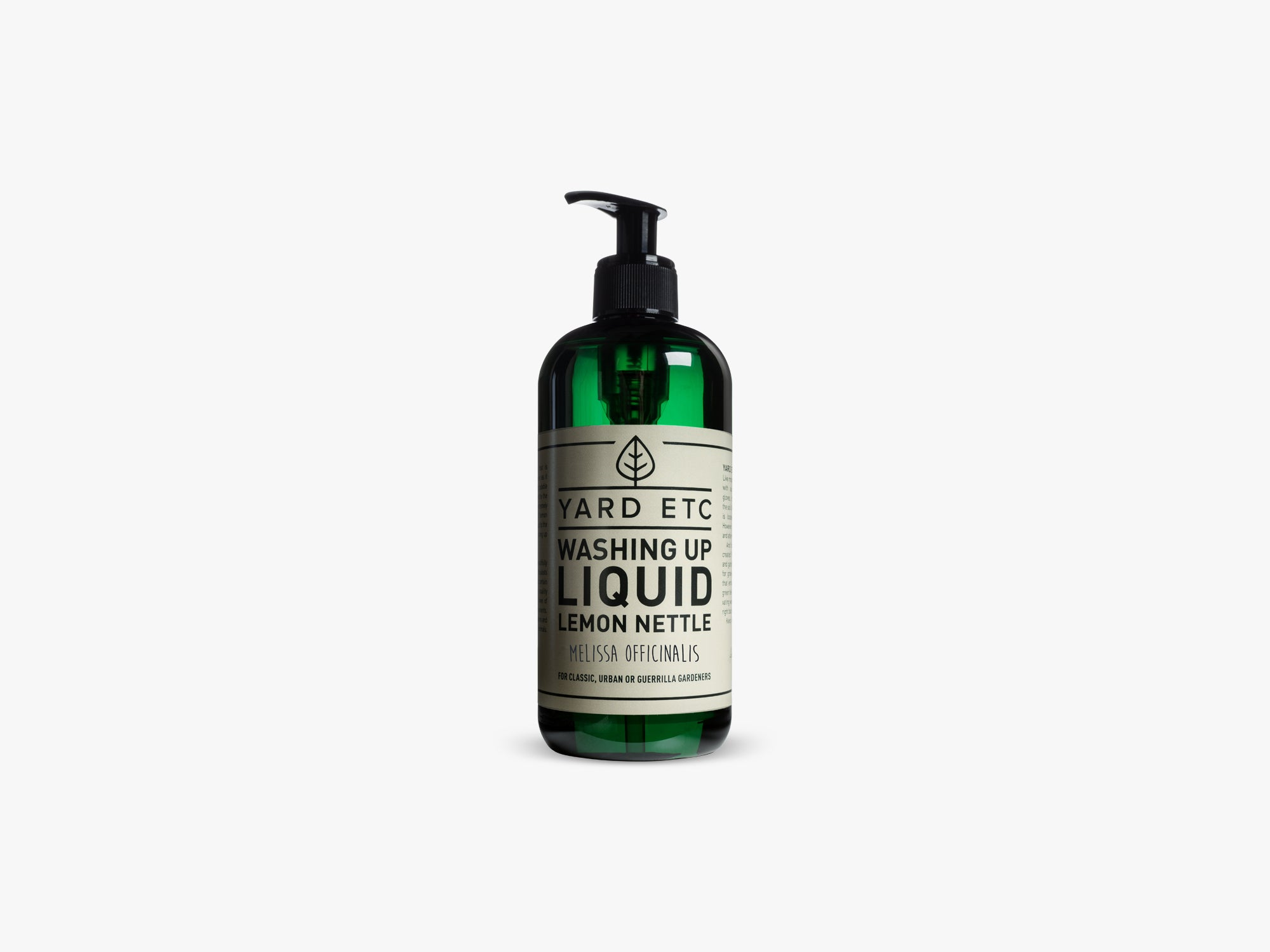 Dish soap - 450ml, Lemon nettle fra Yard Etc