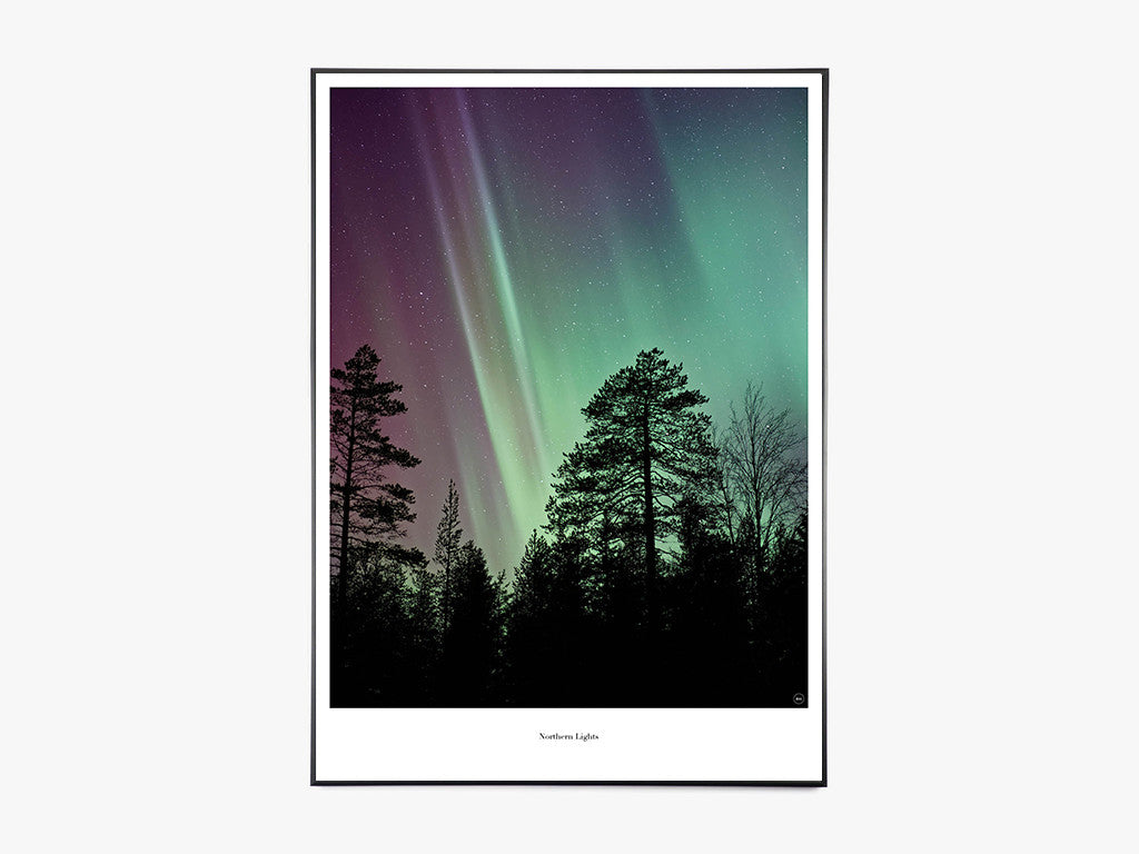 Northern Lights - Beautiful World Plakat fra Beautiful World