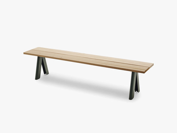 Overlap Bench, Hunter Green fra SKAGERAK