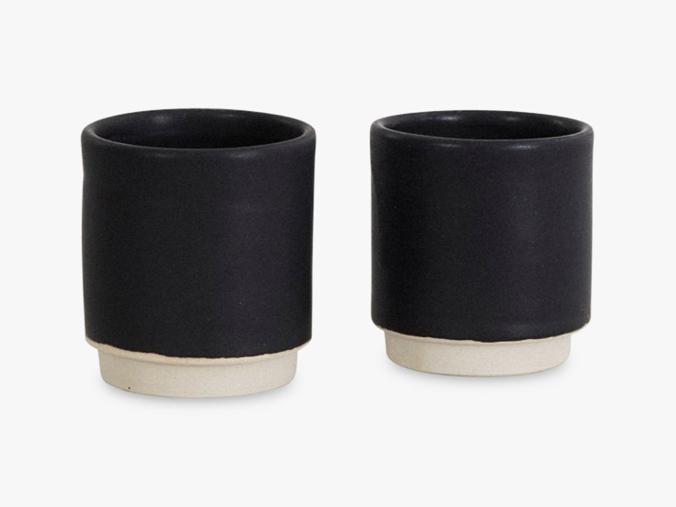 Otto Cup Black, Set Of 2 fra FRAMA