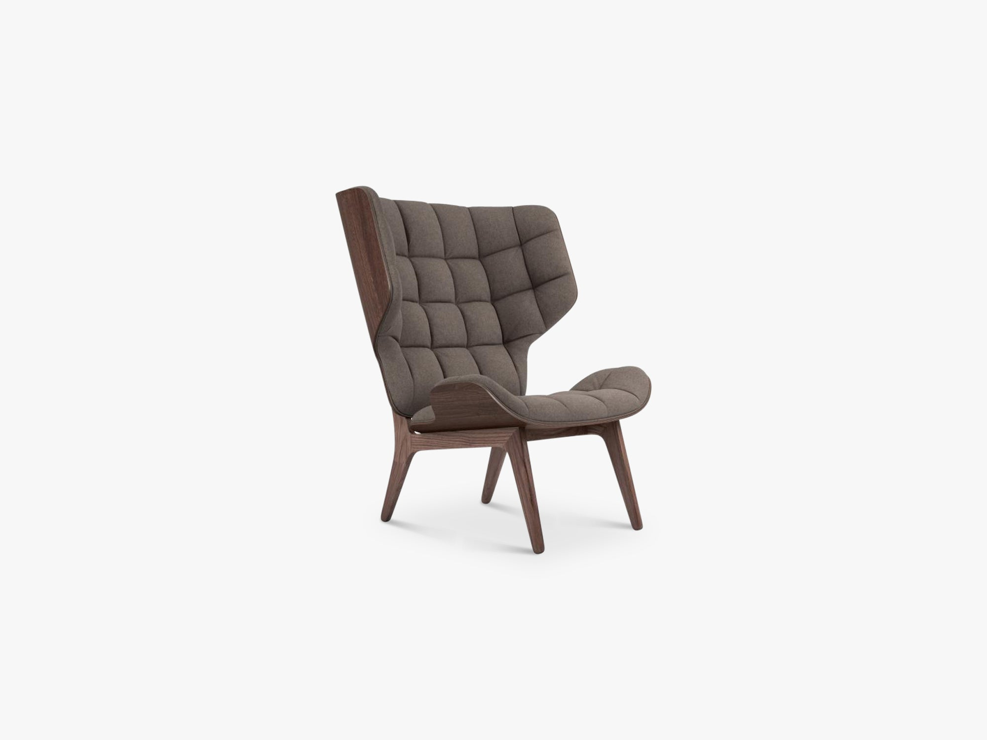 Mammoth Chair, Dark Stained/Fawn fra NORR11