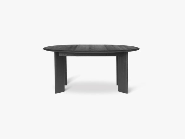 Bevel Table Extendable x 1 - Black Oiled fra Ferm Living