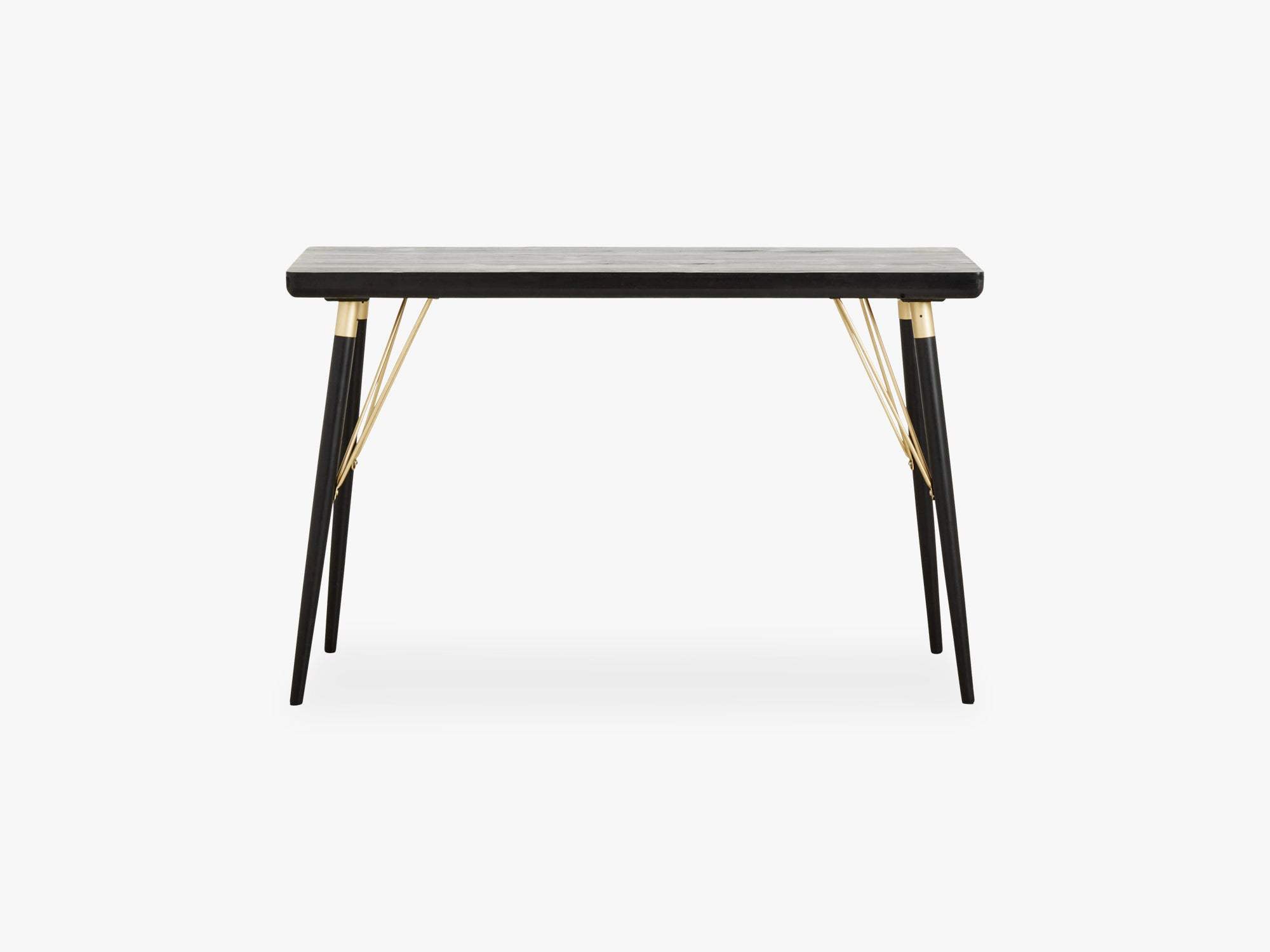 Console table, black wood fra Nordal