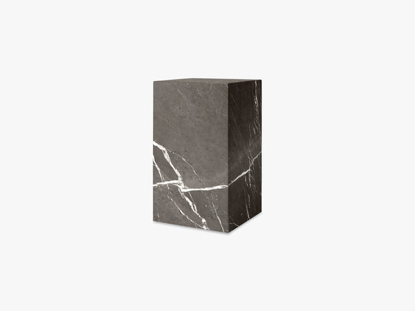 Plinth Tall, Brown Grey Marble fra Menu