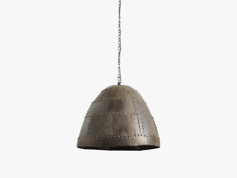 Rusty ceiling lamp, ø-59, h-50, iron fra Nordal