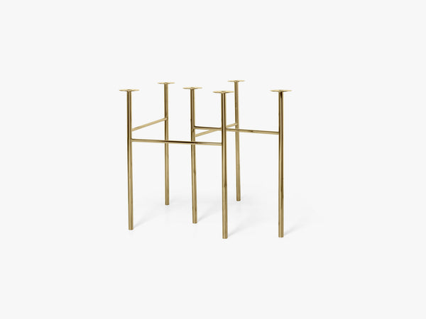 Mingle Table Legs W68, Brass fra Ferm Living