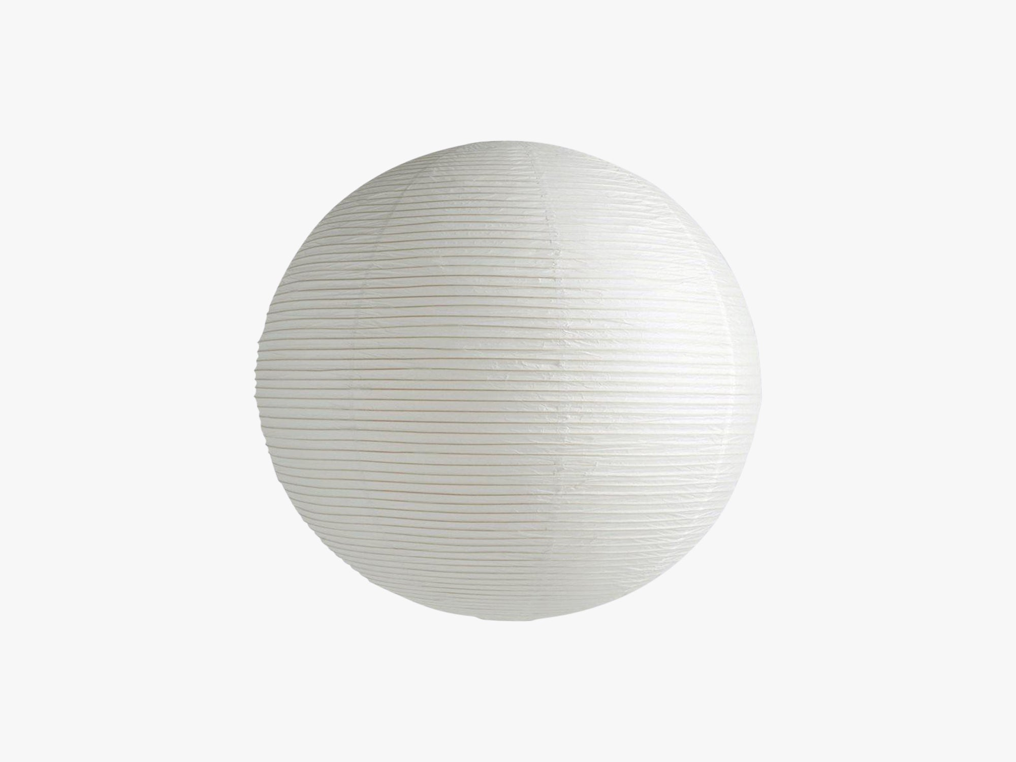 Rice Paper Shade - Classic White, Ø80 fra HAY