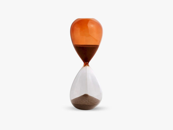 Time - Timeglas L, Burnt Orange fra HAY