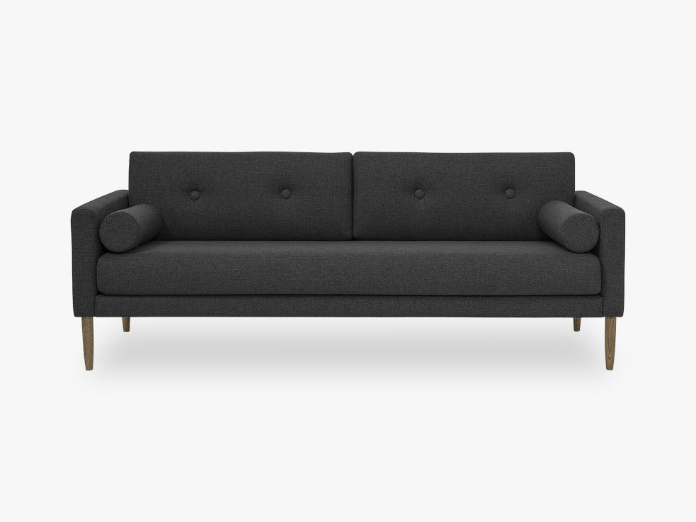 Calm Sofa, Grey, Polyester fra Bloomingville