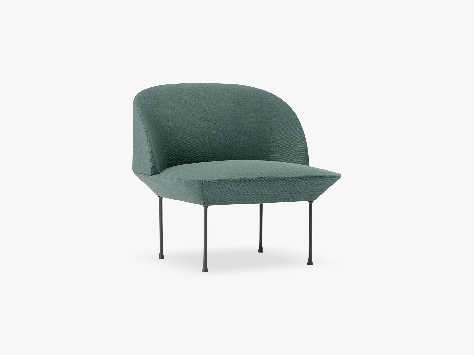 Oslo Lounge Chair / Lounge Chair, Steelcut Trio 966 / Dark Grey Legs fra Muuto