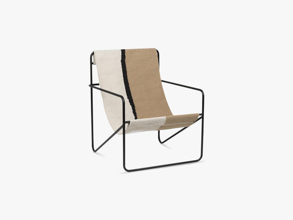 Desert Chair - Black/Soil fra Ferm Living